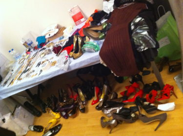 Skor, skor och åter massor av snygga skor.