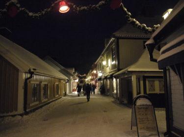 Det är så mysigt här i Sigtuna. På söndag är det dags för julmarknad igen. Tycker Peter behöver lite mer julpynt.