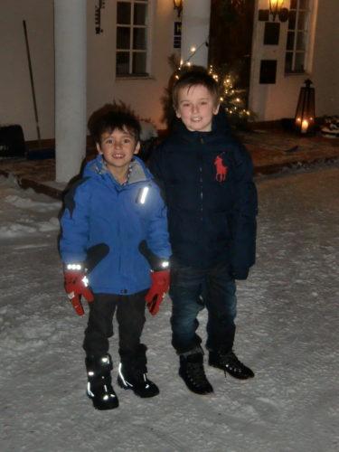 Vi blev bjudna på ett fantastiskt julbord på Friiberghs Herrgård av syster.