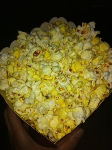 Biopopcorn är ett måste!