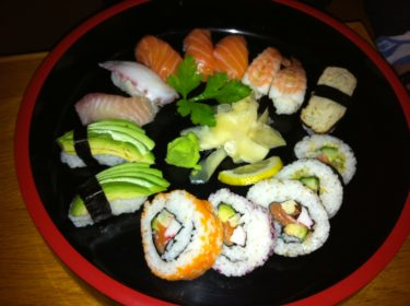 Efter den här sushipotionen mådde jag genast bättre.