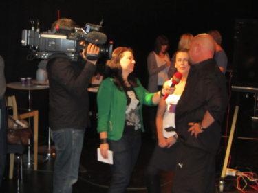 Baggen och Cecilia intervjuades också.