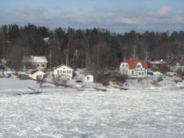 Beundrade alla vackra hus i Skärgården.