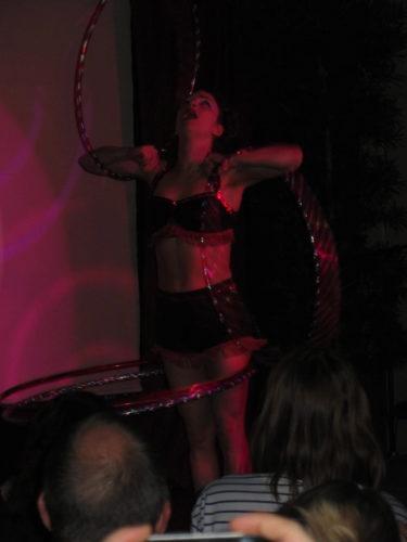 Do the hula hoop.
