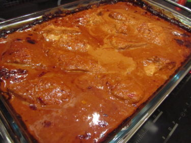 Igår blev det Kyckling Sambal. Hittade receptet hos Victoria, Matplatsen. Den var enkel att tillaga och blev mycket uppskattad.