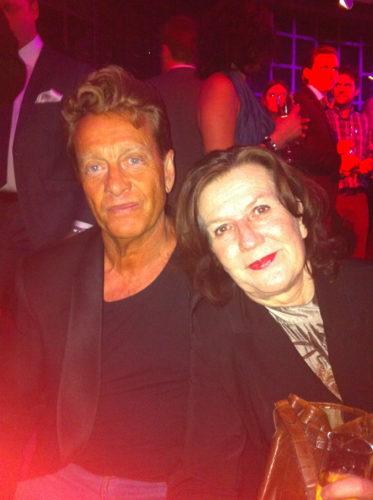 Björn med sin fru Margareta.