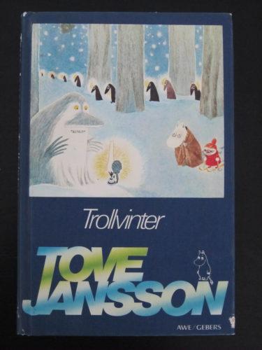 Den boken som vi läser nu är Trollvinter av Tove Jansson. Den läste jag själv som barn.