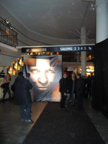 premiären gästades även av filmen sregisregissör av Mikael Håfström och Colin O'Donoghue som hade en av de största rollerna i filmen.