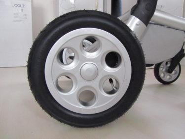 ... och silverhjul.