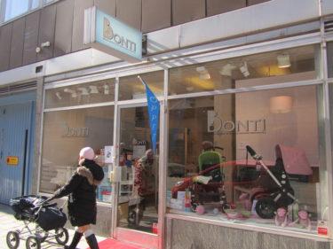 Bonti på Norrlandsgatan och Karlavägen säljer nu JOOLZ barnvagnar.