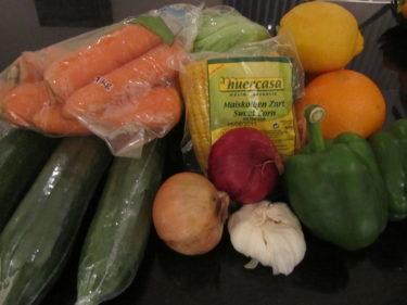 ... och grönsaker.