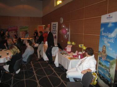 Företagen Seba Med, Stena Line och Allt för föräldrar var där och berättade om sina produkter och arbete.
