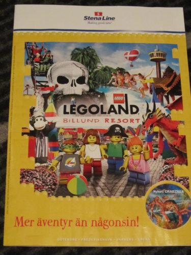Vi åker till LGOLAND i Danmark i sommar. Vi har bokat vår resa genom Stena Line. Ett hett tips till är att åka till Danmark med Stena Line. Där hittar du Legoland och otaliga måmga roliga nöjesparker för hela familjen.