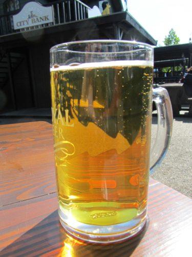En kall öl i solen.