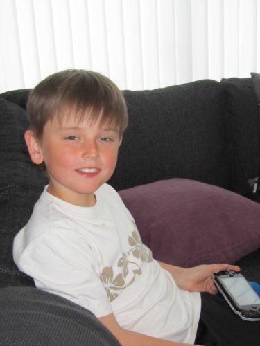 William, min lilla stora älskade pojke.