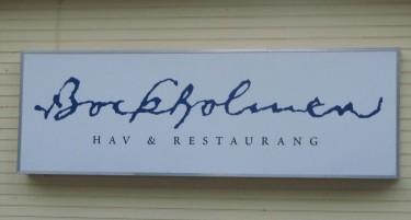 Restaurang Bockholmen på Bockholmen.