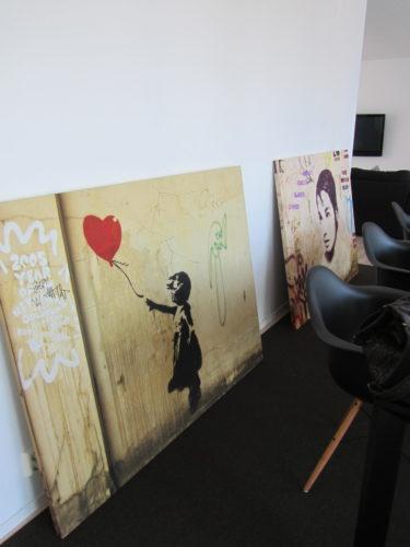 Packade upp mina nya tavlor igår. Än har jag inte fått upp dem på väggen, men vill visa dig i alla fall.