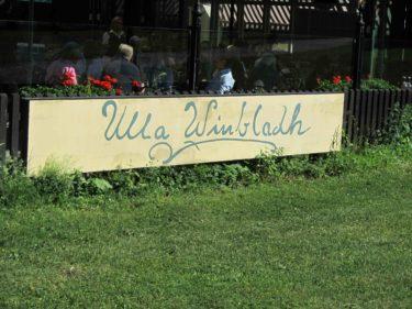 ... på trevliga Ulla Winbladh.