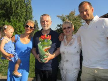 Grattis Gunnar på din födelsedag. Jag älskar Dig!