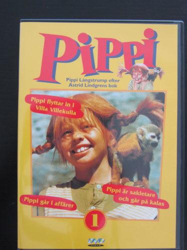 Har köpt en hel Pippi-serie och nu sitter hon fastklistrad vid den första.
