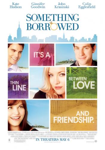 Vi såg den romantiska komedin Something Borrowed med bl a Kate Hudson. Den var bra!