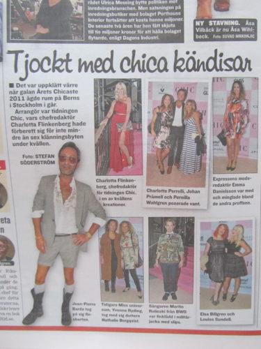 I dagens Expressen var det bilder från fetsen vi missade.