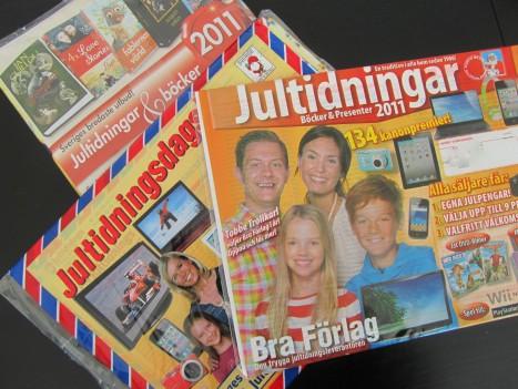 What?! Jultidningar! Tack för den.