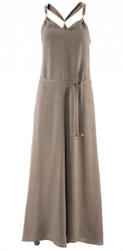 Här är en grön variant av klänningen, men min är finare.
