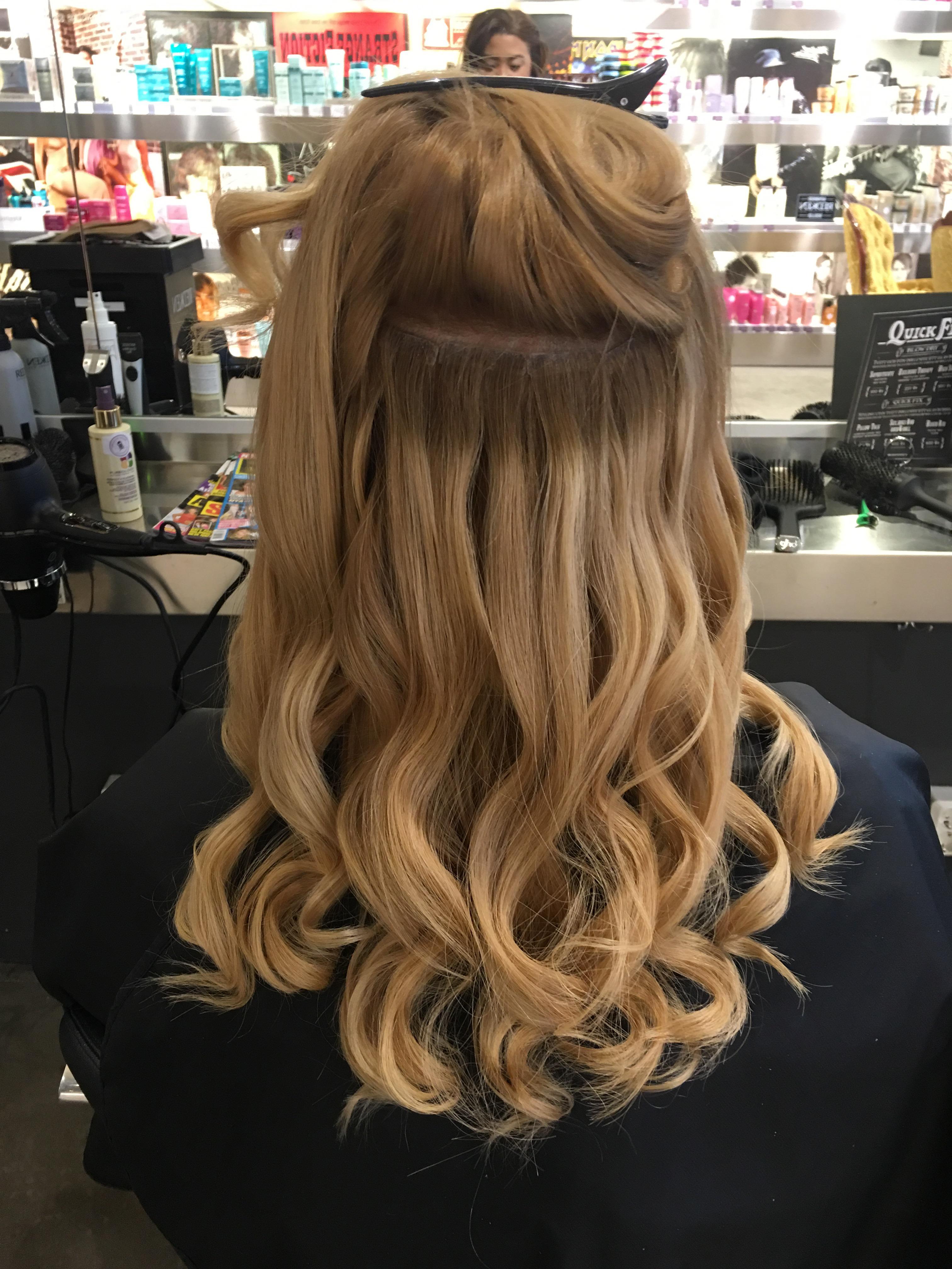 extensions sliter på håret