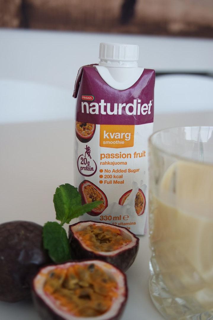 naturdiet kvarg smoothie